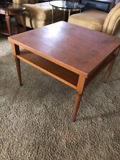 Vintage Danish Modern T H Robsjohn Gibbings Widdicomb End Coffee Table 1956
