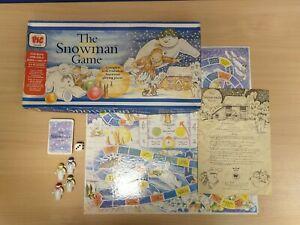 The Snowman Board Game 1987 PIC Vintage RARE Raymond Briggs Christmas Nostalgia