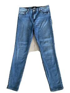 Jeans Tanya X Gr. W31 L30 blau leichter Denim