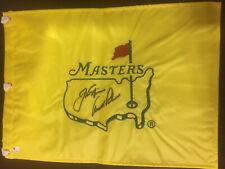 Jack Nicklaus Arnold Palmer autograph  Masters flag GAI