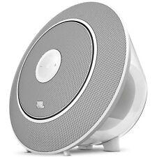 JBL Voyager Portable Wireless Bluetooth Speaker (White)