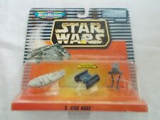 Galoob Micro Machines Star Wars V #65860 Set Of 3 Figures New In Package 1997