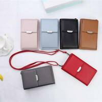 Women PU Leather Coin Cell Phone Mini Cross-body Bag  Wallet Purse Shoulder Bags
