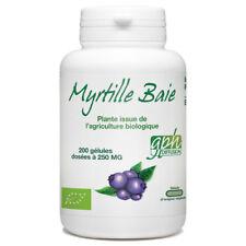 Baie de Myrtille Bio -250mg - 200 gélules végétales