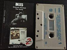 INXS 2-on-1 Cassette Tape ~ Shabooh Shoobah | The Swing
