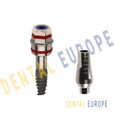 Impianto dentale a spirale + componente secondaria standard FDA / ISO / CE...