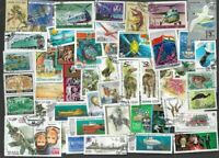 Russia stamps 100 all different collection-many thematics