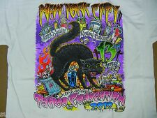 New York City NY 2010 Annual NYC Tattoo Convention Jack Rudy T-Shirt LARGE YOUTH