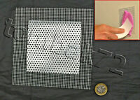Plasterboard Drywall Hole Cover REPAIR PATCH 4'' Self Adhesive Metal Mesh Plate
