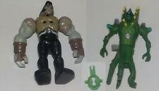 Bandai Ben 10 Creation chamber figures x 2, Wildvine, Frankenstrike