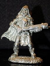 Reaper Skeleton w Crossbow 02089 Miniature Dungeons Dragons Metal Fighter Cloak