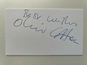 Oliver Cotton - Killing Eve - Sharpe - Original Hand Signed Autograph