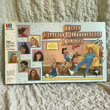1989 THE BABY-SITTERS CLUB BOARD GAME - Vintage Collectables & Toys
