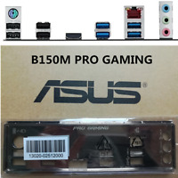 NEW Shield Backplate FOR ASUS B150M PRO GAMING IO I/O Shield Back Plate