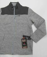 $245 NEW MENS LACOSTE CROC HEATHER JERSEY BUTTON FRONT CARDIGAN SWEATER L