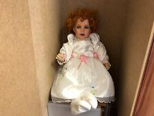 Thelma Resch Porzellan Puppe 62 cm. Top Zustand