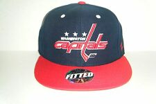 4d90ae69d42513 NEW Zephyr CAP FITTED NHL WASHINGTON CAPITALS SIZE 7 1/4 BLUE RED