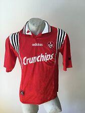 Maglia calcio adidas fc kaiserslautern crunchips 1997 trikot fussball vintage