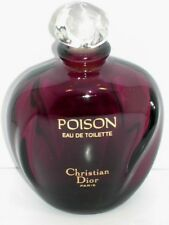 DISPLAY BOTTLE CHRISTIAN DIOR POISON FACTICE 3.4 OZ 100 ML VINTAGE WITH STOPPER