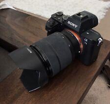 Sony Alpha A7 II 24.3MP Digital Camera Comes With Lens.