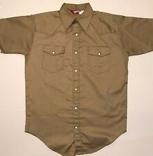 "VINTAGE ""NOS"" TUF NUT WORK WEAR MENS BUTTON DOWN SHIRT SIZE LARGE"