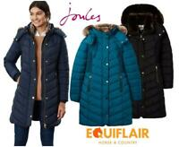 Joules Womens Cherington Quilted Longline Padded Coat - AW19