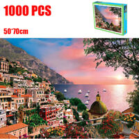 1000 Pieces Jigsaw Puzzles Educational Toy Italian Landscape Scenery Puzzle Toy