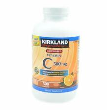 KIRKLAND Signature Vitamin C 500mg 500 Tablets