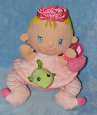 Fisher Price Perfectly Pink Baby Doll Princess Rattle Fairy Wings Activity Toy