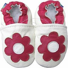 soft sole baby girl first shoes daisy red 6-12 m gift free shipping minishoezoo