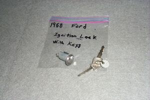 NOS Ignition Lock/Keys 1968/68 Ford Galaxie 500 XL/LTD/Mercury Monterey/Marquis