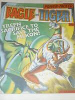 EAGLE & TIGER Comic - No 196 - Date 21/12/1985 - UK Paper Comic