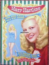 Vintage Uncut 1952 Mary Hartline Paper Dolls~#1 Reproduction~Nostalgic/Sc arce