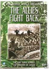 THE WORLD WAR II ARCHIVES THE ALLIES FIGHT BACK DVD