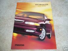 1997 Mazda 626 DX LX EX V6 sales brochure dealer catalog literature
