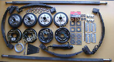 DIY Trailer Kit- 3.2Tonne ELECTRIC DRUM Brake Tandem Kit  ! TRAILER PARTS