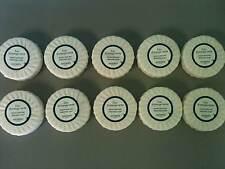 (10) 1.7 oz. Hermes Eau D'Orange Verte Round Soap Bars Paris Luxury