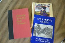 Railroading Around the World S.Kip Farrington plus 2  Railway mini-books