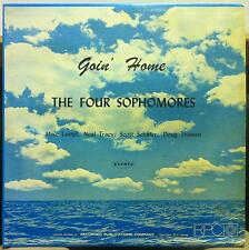 THE FOUR SOPHOMORES goin home LP VG Private Press RPC Custom 1960's Folk