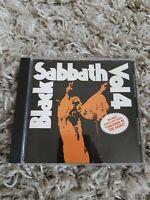 Black Sabbath Vol 4 - rare Bonus live track cd  nelcd 6005 album lp volume 4