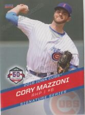 2018 Iowa Cubs Cory Mazzoni RC Rookie Chicago
