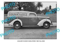 OLD 8x6 PHOTO OF GOLDEN FLEECE TRUCK c1940 SYDNEY 3