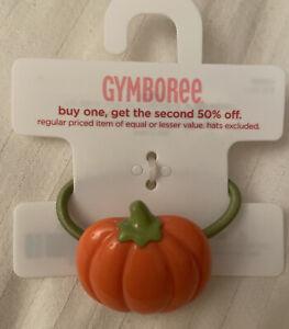 Gymboree Pumpkin Ponytail Holder * One Size *NWT