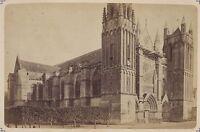 Cattedrale Saint-Pierre Da Poitiers Francia Vintage Albumina Ca 1880