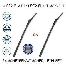 2x Scheibenwischer RENAULT KANGOO (2009-2016) 580/530mm T5 alca SUPER FLAT -Set