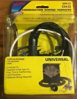 Trailer towing wiring harness Valley 30612 6-Way/4 Flat Combo Connector New UNIV