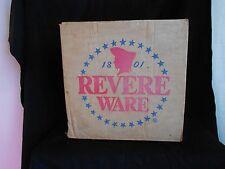 Revere Ware 16 Qt Stock Pot / Water Bath Canner & Box