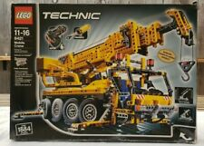 Lego Technic 8421 Mobile Crane - Pneumatics - Motorized - Brand New