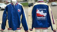 RARE NWT Indianapolis 500 Indy Racing Series Embroidered Blue Jacket Size XXL
