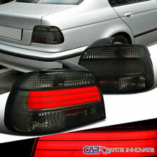 For 01-03 BMW E39 5-Series 525i 530i 540i LED Bar Smoke Tail Rear Brake Lamps